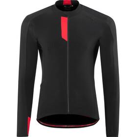 Northwave Fahrenheit Fietsshirt lange mouwen Heren, black red